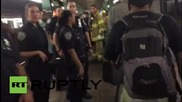 САЩ: Повече от 100 души останаха приклещени след като метро в Ню Йорк дерайлира,трима са ранени