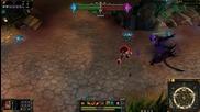Darkflame Shyvana League of Legends Skin Spotlight