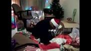 Момче получава Ps3 за Коледа *смешна реакция*
