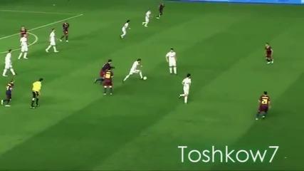 Кристиано прави страхотен трик на Меси
