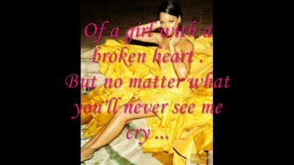 Rihanna - Cry {Текст}