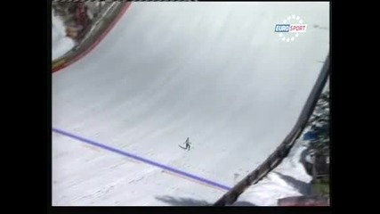 Зоглафски с нов национален рекорд - 213,5 м на шанцата в Планица