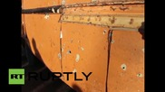 Syria: Shrapnel-scarred cars line Latakia after 23 killed in shelling