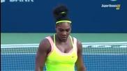 Serena Williams vs Belinda Bencic 1/2 Toronto 2015 Set-1