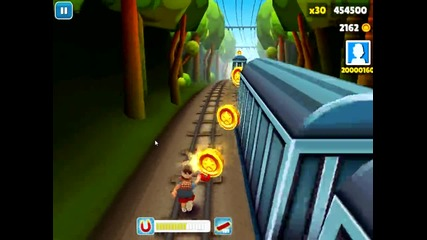 Subway surfers Рекорда ми 2 :)