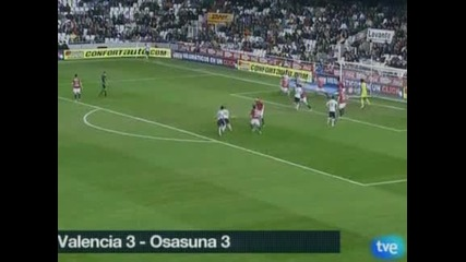 """""""Валенсия"""" и """"Осасуна"""" не се победиха – 3:3"""