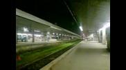 Международния влак начело с 44 - 105.5 пристига на гара София