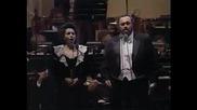 Luciano Pavarotti & Nuccia Fucile - O soave fanciulla