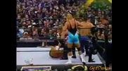Mr. Perfect, Lance Storm & Test vs. Rikishi, Scotty 2 Hotty & Albert - Wwf Heat 17.03.2002