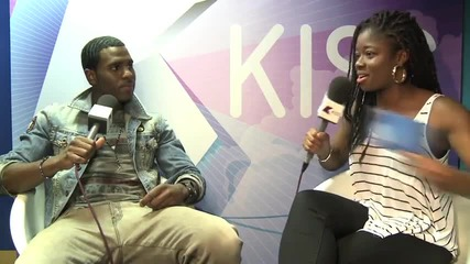 Kiss Fm ( Uk ): Clara meets Jason Derulo