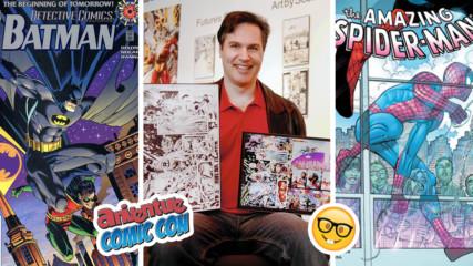 Бащата на Спайдърмен и Батман Скот Хана пред Vbox7: Как се правят гениални комикси?