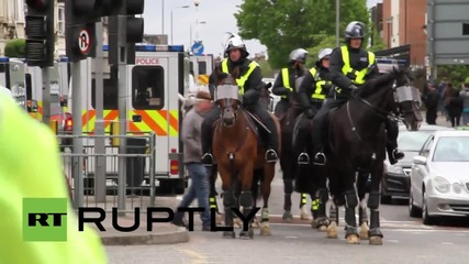 UK: EDL take to London's Walthamstow and get outnumbered