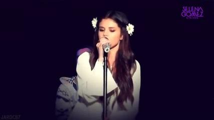Selena Gomez - Cry Me A River - благотворителен акустичен концерт за Unicef