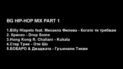 Bg Hip-hop Mix Part 1