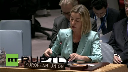 UN: EU playing 'complementary' role in fight against ISIS - Mogherini