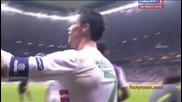 C. Ronaldo изпраща целувка за сина си