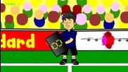 Анимации за световното: Германия 4 - 0 Португалия
