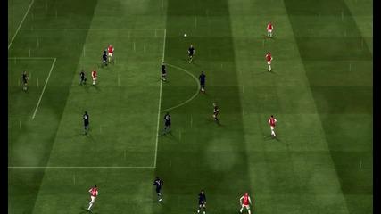 Arsenal vs Man. City (фифа 2011)