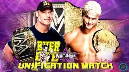 2014 - Wwe Wrestlemania 30 John Cena Vs Dolph Ziggler Unification Match Hd
