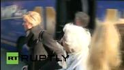 Германия: Пазачът от концлагера Аушвиц Groning на съд в Luneberg