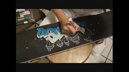 Skateboard Graffiti 2