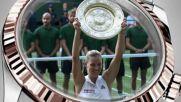 Rolex Kerber 2018 Wimbledon