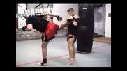 Muay Thai Training 3 - Kicks