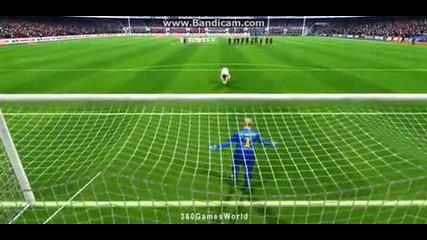 Fifa 14: Real Madrid vs Fc Barcelona (дузпи-penaltyes shootout)