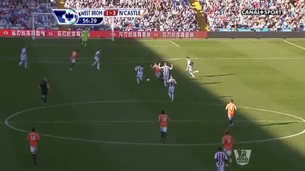 West Bromwich 1 - 3 Newcastle United - The Ben Arfa Show