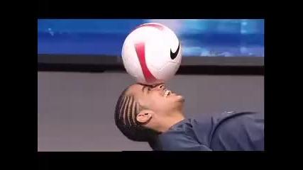 Супер умения с топка от Britains Got Talent 2008