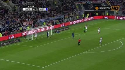Германия 2:4 Аржентина