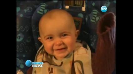 10-месечно бебе се превърна в интернет сензация