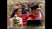 Най Красивите моменти от Сватбата на Уилям и Кейт Мидълтън ( Prince William and Kate Middleton )