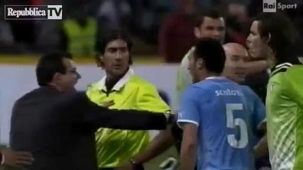 Вкарват гол в Серия А след фалшив последен съдийски сигнал