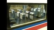 Когато влак в Япония достигне последната се спирка, седалките му се обръщат