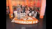 Jelena Vuckovic i Dj Vujo - Misu moj - Utorkom u 8 - (TvDmSat 2013)