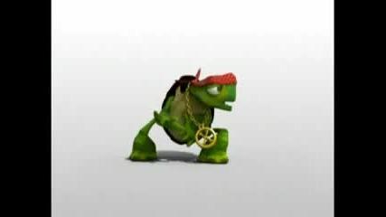 Луда костенурка 2
