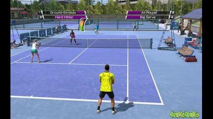 Virtua tennis 4 - My Gameplay