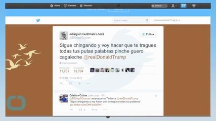 Donald Trump Says FBI is Investigating Chilling El Chapo Tweet