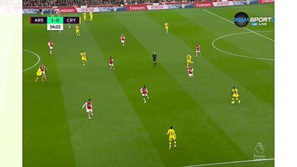 Арсенал - Кристъл Палас 1:0 /първо полувреме/