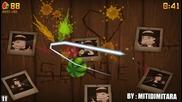 Fruit Ninja - My Gameplay (zen mode)