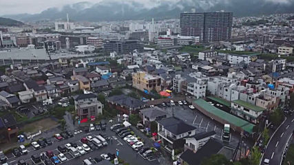 Japan: Drone footage captures aftermath of deadly Kyoto arson attack