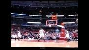 Lebron James Scores Halfcourt Shot at the Buzzer vs Bulls