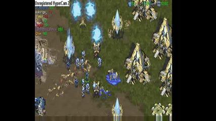 Crazyscv: 1 Marine vs 7 Hydralisks