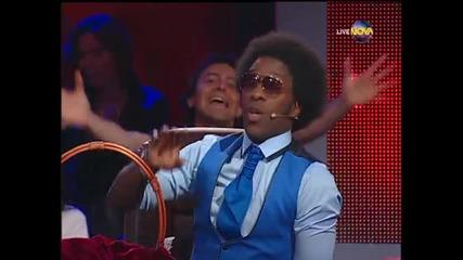 Dancing Stars - Нана и Мирослав ча-ча (25.03.2014г.)