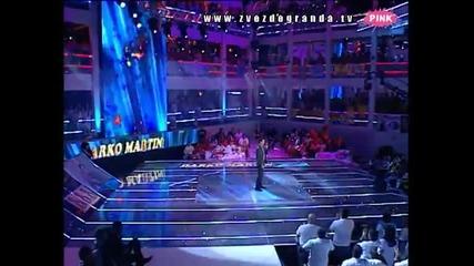 Darko Martinović - Laže mjesec (Zvezde Granda 2010_2011 - Emisija 11 - 11.12.2010)