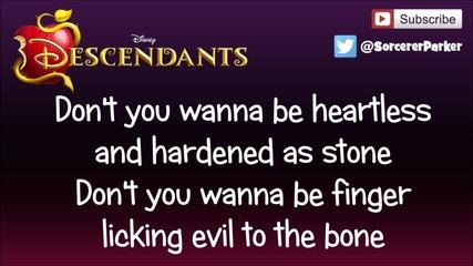 Disney Descendants 'evil Like Me' Full Song & Lyrics