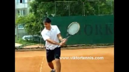 Тенис урок - бекхенд (на български език).wmv