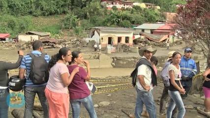 Dozens Dead In Colombian Neighborhood Swept Away By Massive Landslide