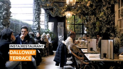 Insta Restaurant: Get ready to be whisked away to a winter wonderland